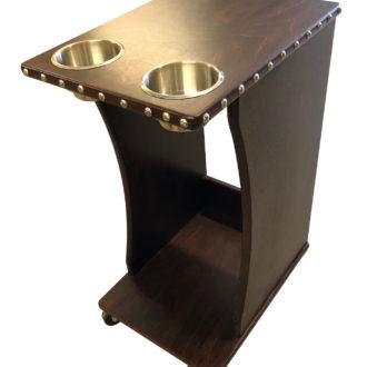 Side Tables - k and j poker